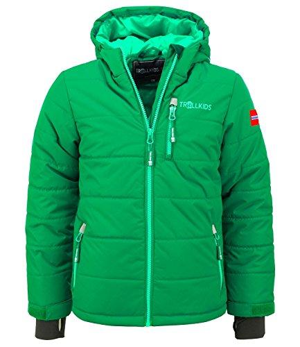 Trollkids Veste de ski enfant Hemsedal - vert - 24 mois