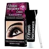 Verona Henna Pro Series Cream Creme Augenbrauenfarbe Wimpernfarbe Augenbrauen schwarz oder braun15 ml (schwarz)