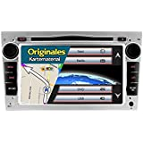 "A-SURE 7"" Zoll DVD GPS Autoradio 3G DAB+ RDS Sat Navi FM AM Bluetooth USB Navigation VMCD Für OPEL Astra Corsa Antara Zafira Omega Tigra (49 europäische Länder) Z5OVSQ 2-Jahre-Garantie"