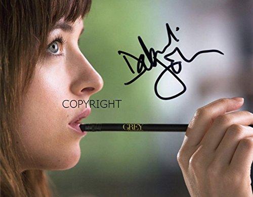 Limited Edition Dakota Johnson 50Shades unterzeichnet Foto Autogramm signiertsigniertes (Filme Auf Dvd, 50 Shades Of Grey)