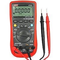 UNI-T UT61E 22000 Condes Multímetro Digital de Precisión Multiprobador AC/DC Voltaje, Corriente, Resistencia, Capacitancia Tester con RS232C Cable(Rango Automática)
