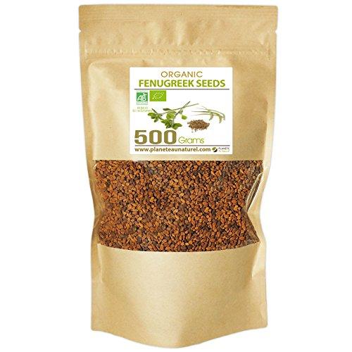 Organic Fenugreek Seeds - 500g - Trigonella foenum-graecum