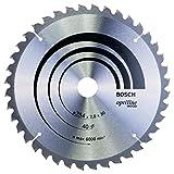 Bosch Professional Zubehör 2608640435 Kreissägeblatt Optiline Wood 254 x 30 x 2,0 mm, 40