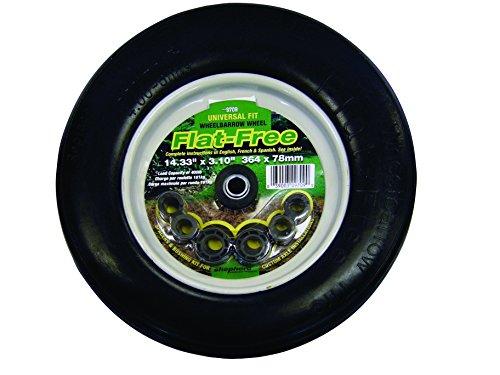 Select Hardware 9709 360mm Flat Free Wheelbarrow Wheel Test