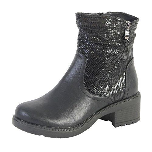 The Divine Factory Boots 2175-3 Schwarz Noir