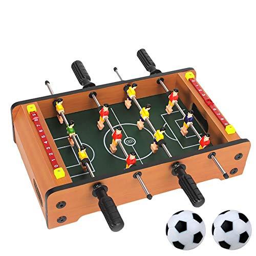 closely.T Tischfußball, Mini Sports Arcade Foosball Soccer Game Spielzeug für Kinder, Familie und Party