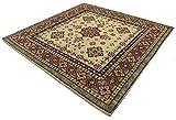 Galleria Farah1970 198x198 cm Tappeto AFGANISTAN Pakistan Carpet Tapis Teppich Alfombra Rug (Hand Made)