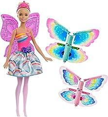 Idea Regalo - Barbie - Fatina Magiche Ali - dal Mondo di Dreamtopia, FRB08