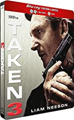 Taken 3 [Edition Limitée Blu-ray Collector Steelbook® - 2 Blu-ray + 1 DVD]