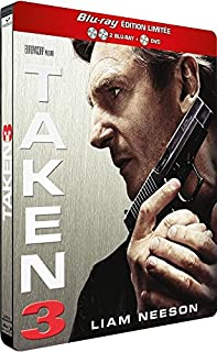 Taken 3 [Edition Limitée Blu-ray Collector Steelbook® - 2 Blu-ray + 1 DVD] (B00SV6UI0C) | Amazon Products