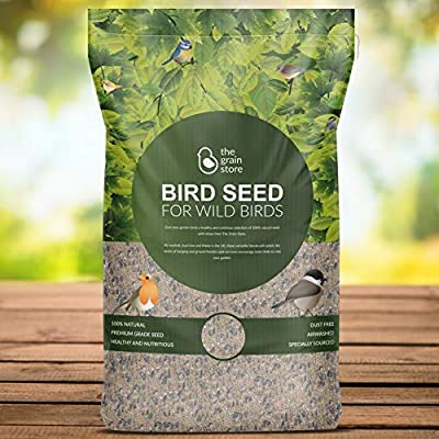 The Grain Store Wild Bird Food 20KG Deluxe Seed Mix for Garden Feeders by The Grain Store