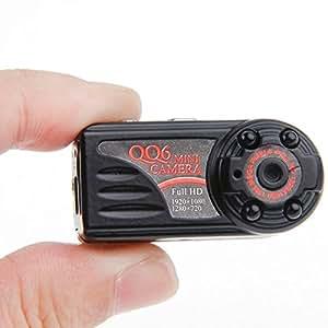 QQ6 Full HD 1080P IR Night Vision Mini DV DVR 12.0 MP Thumb Metal Hidden Camera Digital Video Recorder