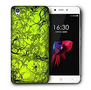 Snoogg Green Pattern Design Designer Protective Phone Back Case Cover for OnePlus X