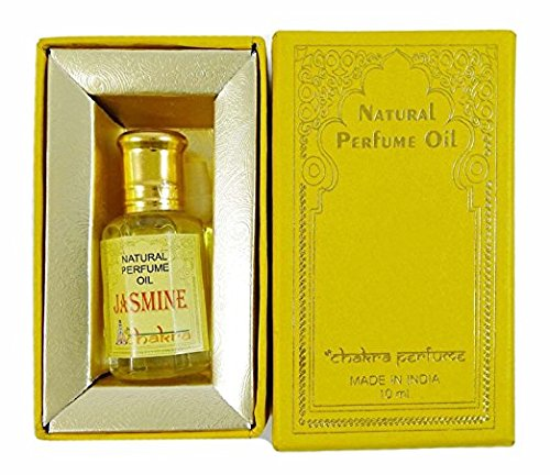Chakra 100% reines natürliches Parfüm-Jasmin-Öl-Duftöl 10ml (Jasmin-parfüm-körper-Öl)