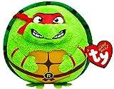 TY 7138254 - Teenage Mutant Ninja Turtles Ball - Raphael, Durchmesser 12 cm, Beanie Ballz