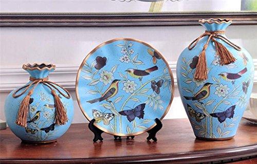 estilo-europeo-ceramica-jarron-con-flores-creativo-tres-conjuntos-home-living-habitacion-decoracion-