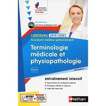 Terminologie médicale et physiopathologie - Intégrer la fonction publique - 2019/2020
