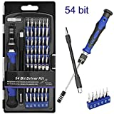 Schraubendreher Set, Migimi 58 in 1 Mini Schraubendreher Satz Werkzeug, 54 Bits Magnetische Elektronik Schraubendreher Kit Reparatur Werkzeug Set für iPhone, Tablet, Macbook, PC, Laptop, Brille etc