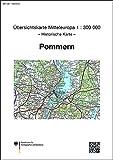 Karte von Pommern 1:300.000