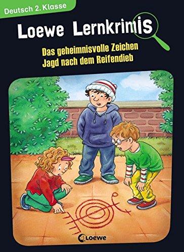 as geheimnisvolle Zeichen / Jagd nach dem Reifendieb ()