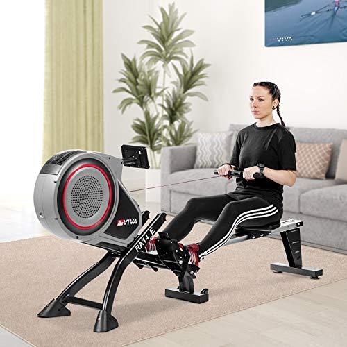 RA14 Rudergerät Magnetic Rower Cardio AsVIVA kaufen  Bild 1*