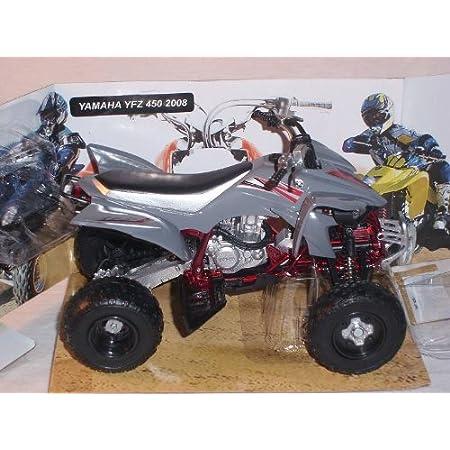 Yamaha Yfz Quad 450 2008 Grau 1/12 New Ray Motorradmodell Motorrad Modell