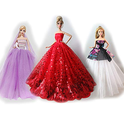 MM Fashionista Hochzeitskleider & Kleidung Zubehör für Barbie-Puppen