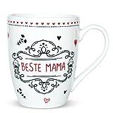 Sheepworld 59268 Lieblingstasse Beste Mama, Kaffee-Tasse, mit Geschenk-Anhänger