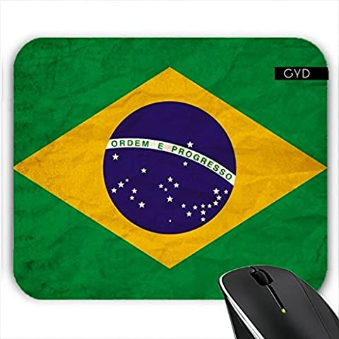 Mousepad - Brasilien Rio Flagge Brasilianisches by
