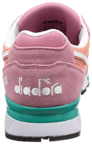 Diadora N9000 III, Sneaker a Collo Basso Uomo Rosso (Vla Ericars Corallo Offusvrd)
