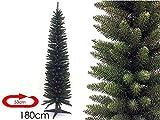 LIBERAONLINE Weihnachtsbaum Slim Monviso 180cm volle und kompakte # agn17
