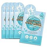 *Berrisom* Water Bomb Jelly Mask 33ml x 5 sheets (#Moisture)