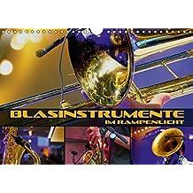 Blasinstrumente im Rampenlicht (Wandkalender 2018 DIN A4 quer): Stimmungsvolle Konzert- und Nahaufnahmen verschiedener Blasinstrumente (Monatskalender, 14 Seiten )