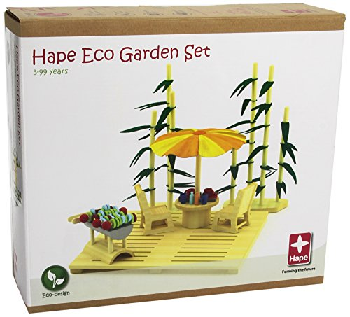 Hape 821507 - Set giardino ecologico [Importato da Germania] [importato dalla Germania]
