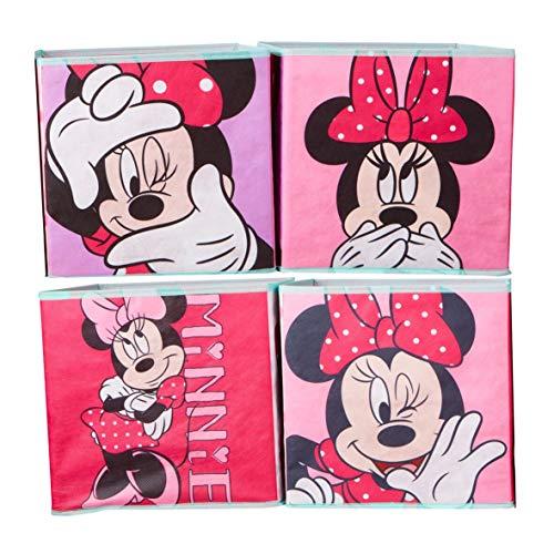 Minnie Mouse - Kisten für Kinder zur Aufbewahrung von Spielzeug -