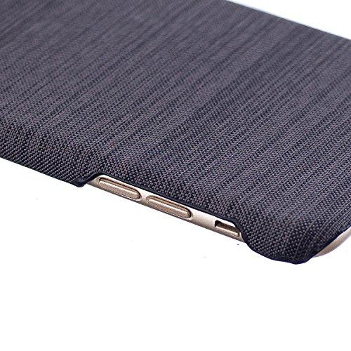 Apple iPhone 7 Plus/iPhone 8 Plus 5.5 hülle, Voguecase Hybrid Hülle Koffer Schutzhülle Handyhülle Schutz vor Stürzen und Stößen Schutzhülle für iPhone 7 Plus/iPhone 8 Plus Case Cover (Leinen Stab Lede Leinen Stab Leder-Braun