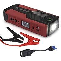 18000Mah 750A Auto Starthilfe Powerbank Ger/ät CE FCC ROHS-Zertifizierung Tragbar Notfall Solar Powerbank 2 USB Und 12//16//19V Ausgang Jump Starter Battery Kits F/ür 4.0L Diesel Und 6.0L Benzin Auto