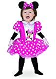 Ciao- Baby Minnie Classic Disney Costume per Bambini, Rosa, 18-24 mesi, 11244.18-24
