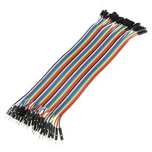 51FJrEHUmHL. SS300  - Bheema 40 cables de puente macho a hembra para Arduino, 20 cm