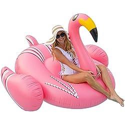 Juguete Inflable Gigante de Flamenco, Juguetes Flotadores para Piscina, para Playa, Fiesta de Piscina y de Salón para Adultos y Niños …