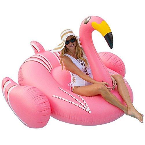 Juguete Inflable Gigante de Flamenco, Juguetes Flotadores para Piscina, para Playa, Fiesta...