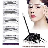 10 Pairs Augenbrauen Schablone ,Vanyda Einweg 5 Stil Eyebrows Grooming Stencil Kit , Augenbraue Pflege Gestaltung Vorlage Make-up Schönheit Werkzeug