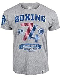 Boxing T-shirt. Thumbs Down Boxing Club. Brooklyn Club. Hard Knocks. Heavyweight Champion. Boxe Martial Arts. MMA T-shirt