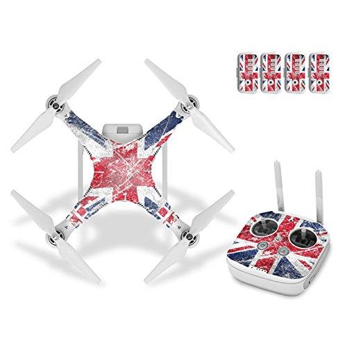 rcstyle Dekoration Arm Aufkleber Haut Wrap Vinyl Sticker Decals Motiv für DJI Staggering 3Quadcopter Drone