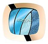 L'Oréal Paris Color Riche Quads Eyeshadow, S15 Turquoise Spell - Lidschatten Palette für ein intensives, sinnliches Farbergebnis - 1er Pack (1 x 2,5g)