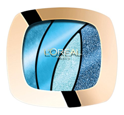 L'Oréal Makeup Designer Paris Color Riche Quad Ombretto, S15 Turquoise Spell