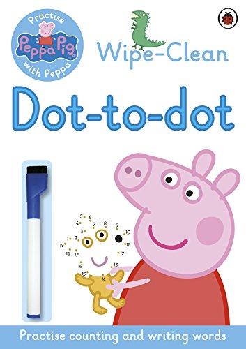Image of Peppa: Wipe-clean Dot-to-Dot (Peppa Pig)
