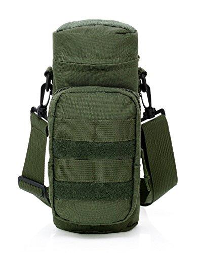 lazutom Tactical Gear EDC Wasser Flasche Tasche Outdoor Umhängetasche Wasserkocher Taille grün