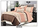 Innovative Edge 4 Piece Combo Set Of Double Luxurious Reversible Comforter And Premium Elegant Bedsheets With 2 Pillow Covers