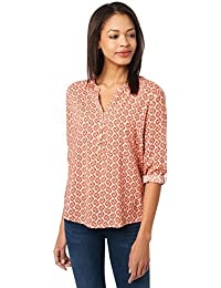 TOM TAILOR Damen Bluse Basic Print Blouse